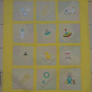 Baby crazy quilt - ITHWL