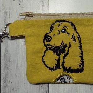 Cocker spaniel bottom opening poo bag - ITHWL