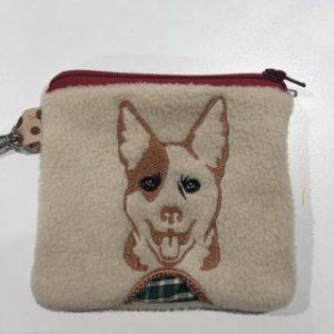 Kelpie bottom Poo bag 5x5 - ITHWL