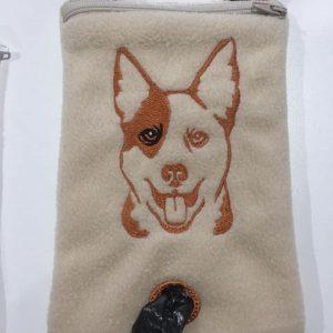 Kelpie phone poo bag - ITHWL
