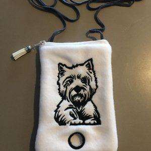 Westie phone poo bag - ITHWL